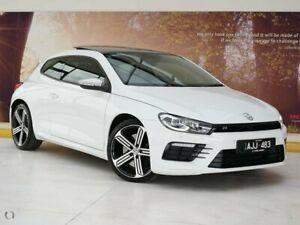 2016 Volkswagen Scirocco 1S MY17 R Coupe DSG White 6 Speed Sports Automatic Dual Clutch Hatchback Collingwood Yarra Area Preview