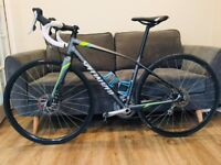 Specialized Dolce Elite Disc Equipped womens road bike. 51cm frame