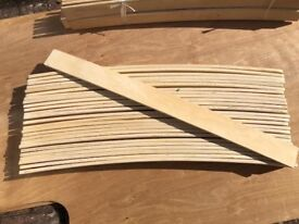 REPLACEMENT BED SLATS (VARIOUS SIZES AVAILABLE) & FIXINGS AVAILABLE - CAN BE CUT TO SIZE