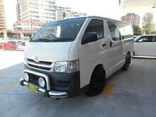 2010 Toyota Hiace TRH201R MY11 Upgrade LWB French Vanilla 4 Speed Automatic Van Allawah Kogarah Area Preview