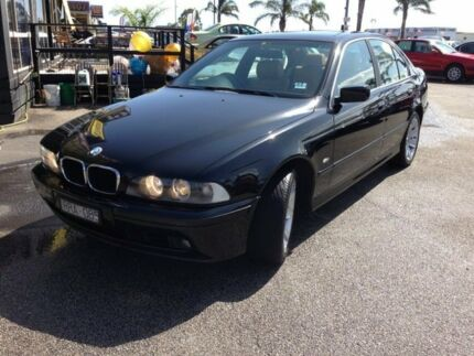 2002 BMW 530i E39 MY02 High-line Steptronic Executive Black 5 Speed Sports Automatic Sedan Heatherton Kingston Area Preview