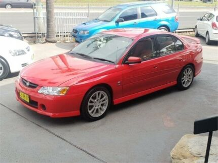 2004 Holden Commodore VY II S Red Manual Sedan Lansvale Liverpool Area Preview