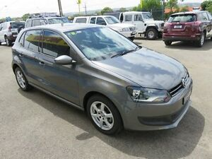2012 Volkswagen Polo 6R MY13 77 TSI Comfortline Grey 7 Speed Automatic Hatchback Reynella Morphett Vale Area Preview