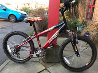 "Boys Raleigh Hot Rod 20"" Bike & Giro Helmet Immaculate Condition"