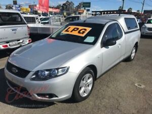 2009 Ford Falcon FG (LPG) Silver 4 Speed Auto Seq Sportshift Utility Lansvale Liverpool Area Preview
