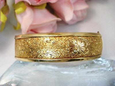 Vintage Binder Brothers Fine Fashion Retro  Jewelry 12Kt Gold Filled Bracelet