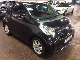 2011 TOYOTA IQ 1.0 VVTI 3 DOOR HATCHBACK PETROL MANUAL BLACK MOT GREAT DRIVE ECONOMICAL N SMART MINI