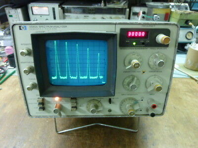 Hp 3580a Spectrum Analyzer High Performance Audio To 50khz