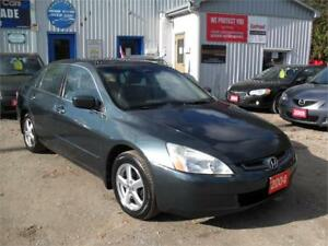 2004 Honda Accord Sdn EX-L  MUST SEE ALLOY RIMS  ONE OWNER 157KM