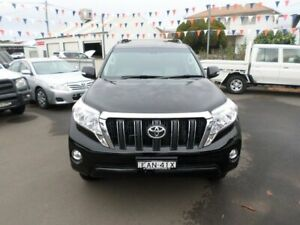 2015 Toyota Landcruiser Prado KDJ150R MY14 Altitude Black 5 Speed Sports Automatic Wagon Young Young Area Preview