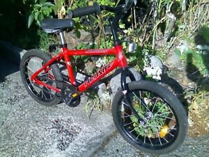 "Kids Bike w 16"" Wheels"