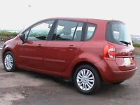 RENAULT GRAND MODUS AUTOMATIC 1.5 DCI 5 DR RED,1 YRS MOT,£30 RD TAX,CLICK ON VIDEO LINK TO SEE MORE