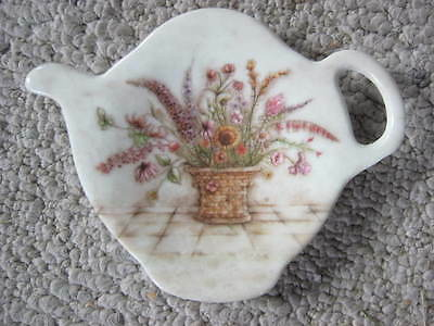 "Vintage ""Tea Pot"" Spoon Rest. Made in Italy! T00 Cute!"