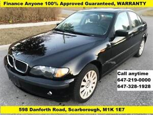 2003 BMW 3 Series 320i AUTOMATIC LEATHER SUNROOF
