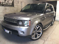 RangeRoverSport 3.0SDV6 255bhp 2012/12 AUTO HSE,ORKNEY GREY,BLACK LEATHER 81K
