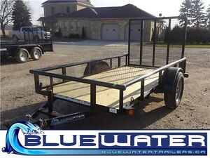 SINGLE AXLE OPEN SIDE UTILITY! STARTING AT $1620!!!