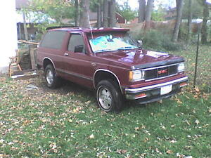 1985 GMC Jimmy 4x4 with 327 V8