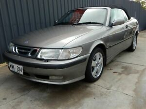 2002 Saab 9-3 MY2003 Turbo Silver 4 Speed Automatic Convertible Blair Athol Port Adelaide Area Preview