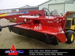 2012 New Holland H7450 Discbine Mower Conditioner