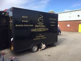 Mobile catering trailer LIVERPOOL