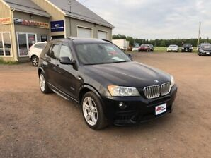 2012 BMW X3 35i M Package AWD Twin Power Turbo PANORAMIC ROOF