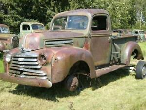 Wanted: 1938-47 Ford Mercury Truck