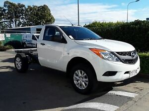 2013 Mazda BT-50 UP0YD1 XT 4x2 Hi-Rider White 6 Speed Sports Automatic Cab Chassis Acacia Ridge Brisbane South West Preview