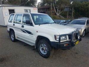 1999 Holden Jackaroo L8 White Manual Wagon Lansdowne Bankstown Area Preview