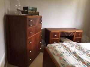 Antique 1940's bedroom set