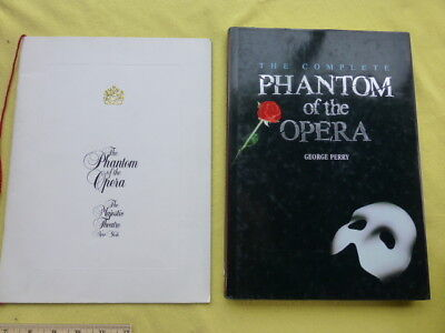 The Phantom of the Opera - Majestic Theatre Deluxe Playbill & Book George Perry