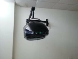 Hood dryer on wall arm