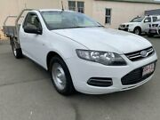2013 Ford Falcon FG MK2 White 6 Speed Auto Seq Sportshift Cab Chassis Southport Gold Coast City Preview
