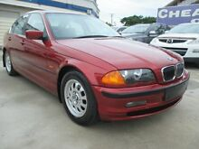 1998 BMW 323I E36 Red 5 Speed Manual Sedan Greenslopes Brisbane South West Preview