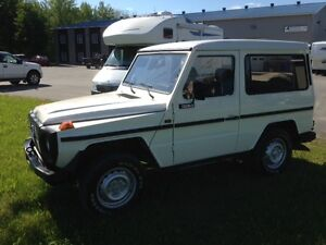 1983 Mercedes-Benz G-Class SUV, Crossover