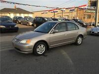 2002 Honda Civic LX-G (Certified & E-Tested)