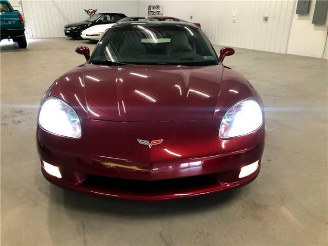 2006 Burgundy Chevrolet Corvette Coupe  | C6 Corvette Photo 7
