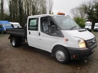 2013 Ford Transit 2.2TDCi 350 Double cab TIPPER PICK UP35,000 MILES 6 SPEED