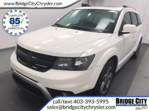 2015 Dodge Journey Crossroad AWD- Leather, DVD, NAV, Seats 7!