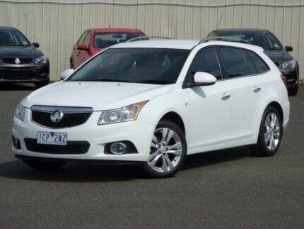 2014 Holden Cruze JH Series II MY14 CDX Sportwagon White 6 Speed Sports Automatic Wagon Diggers Rest Melton Area Preview
