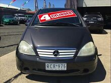 2000 Mercedes-Benz A160 W168 Avantgarde 5 Speed Sequential Manual Hatchback Brooklyn Brimbank Area Preview