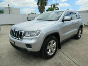 2012 Jeep Grand Cherokee WK MY12 Laredo (4x4) Silver 5 Speed Automatic Wagon Granville Parramatta Area Preview