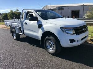 2014 Ford Ranger PX XL 4x2 Hi rider White Automatic Cab Chassis Single cab Ballina Ballina Area Preview