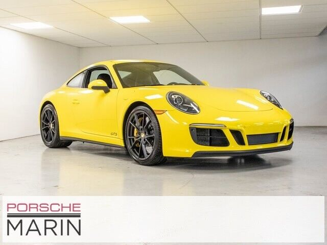 2019 Porsche 911 Carrera GTS 2D Coupe 3.0L 6-Cylinder Turbocharged DOHC
