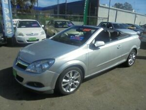 2007 Holden Astra TS MY06 Convertible Silver 4 Speed Automatic Convertible Punchbowl Canterbury Area Preview