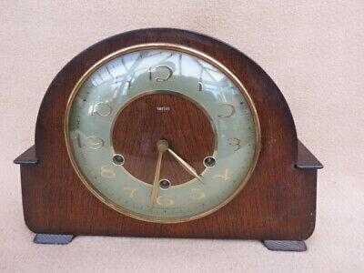 VINTAGE SMITHS GUILDFORD FLOATING BALANCE WESTMINSTER MANTEL CLOCK FOR SPARES OR