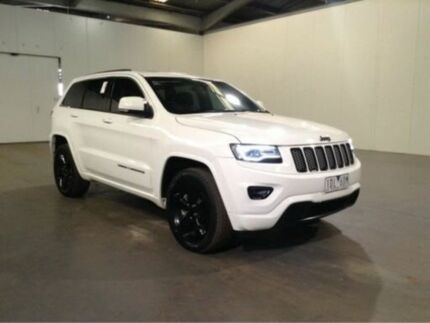 2014 Jeep Grand Cherokee WK MY14 Blackhawk White 8 Speed Automatic Wagon