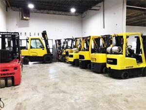 Chariot elevateur Electrique Propane Forklift Toyota Raymond Hys