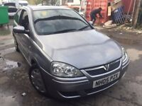 Cheap car of the day 2005 Vauxhall Corsa, starts and drives, MOT until April 2018, only has green sl