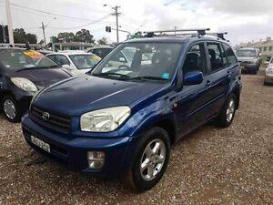 2003 Toyota RAV4 ACA21R Cruiser (4x4) Blue 4 Speed Automatic 4x4 Wagon Greenacre Bankstown Area Preview