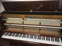 Nordiska upright piano. Including stool. Newly tuned and serviced.